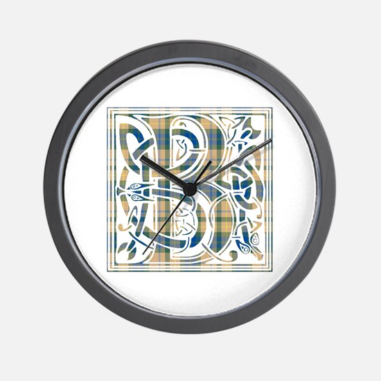 Monogram-Buchanan hunting Wall Clock