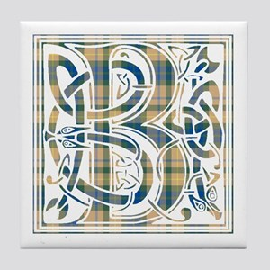 Monogram-Buchanan hunting Tile Coaster