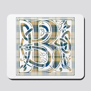 Monogram-Buchanan hunting Mousepad