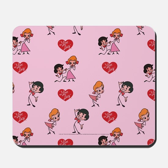 I Love Lucy: Pattern Mousepad
