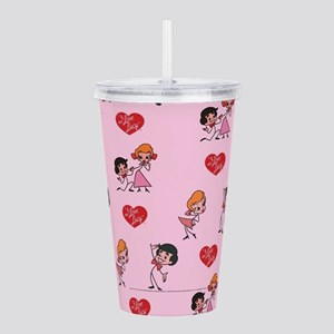 I Love Lucy: Pattern Acrylic Double-wall Tumbler