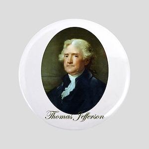 """Thomas Jefferson 3.5"""" Button"""
