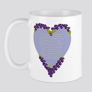 Forget Me Not Memorial Mug
