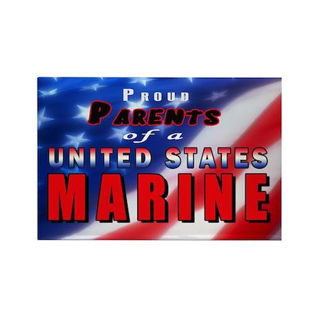 Proud Parents of a US Marine Magnet