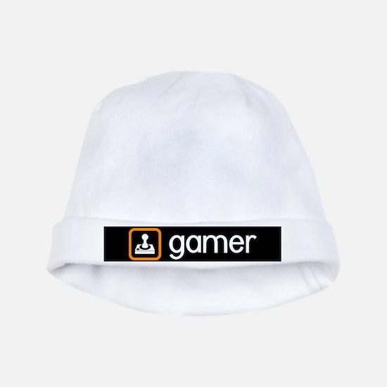 Gamer (Orange) Baby Hat