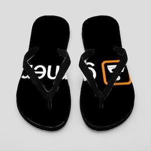 Gamer (Orange) Flip Flops