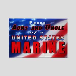 Proud Aunt & Uncle of a US Marine Magnet