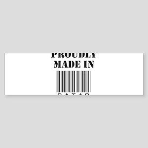 made in Qatar Bumper Sticker