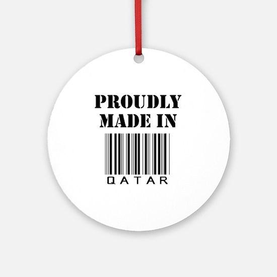 made in Qatar Ornament (Round)