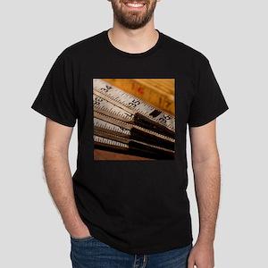 Carpenters Rulers Dark T-Shirt