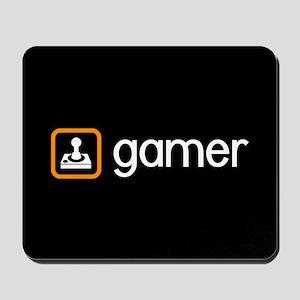 Gamer (Orange) Mousepad