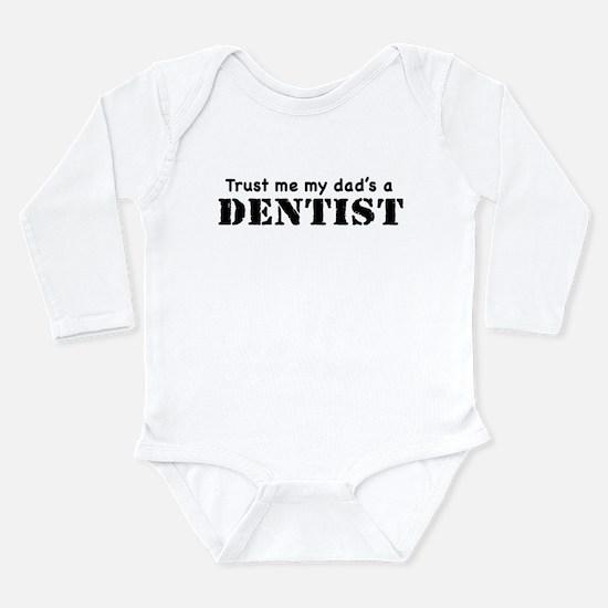 Cute Future dentist Long Sleeve Infant Bodysuit