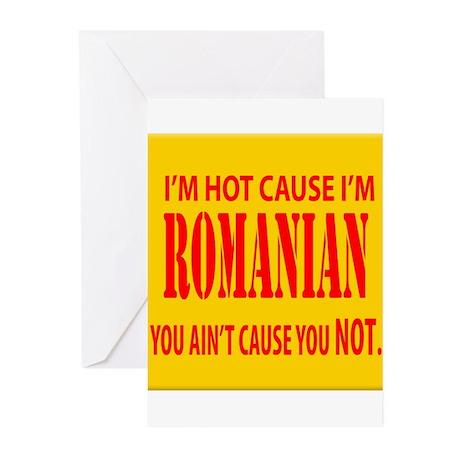 Hot Romanian Greeting Cards (Pk of 20)