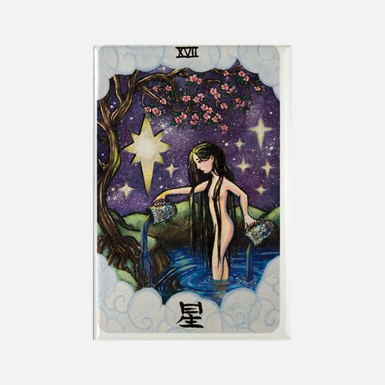 Unique Tarot Rectangle Magnet