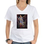 Ophelia / JRT Women's V-Neck T-Shirt