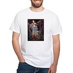 Ophelia / JRT White T-Shirt
