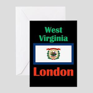 London West Virginia Greeting Cards