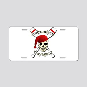 Adirondack Voyageur Aluminum License Plate