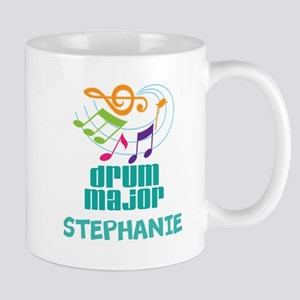 Drum Major Personalized Band Mugs