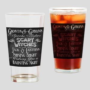 Haunted Night Drinking Glass