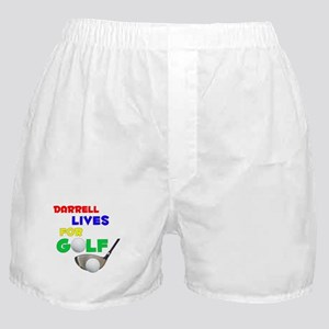 Darrell Lives for Golf - Boxer Shorts