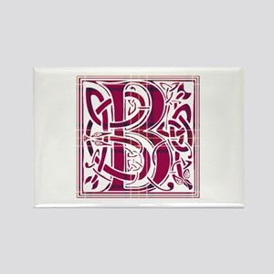 Monogram - Burnett of Leys Rectangle Magnet