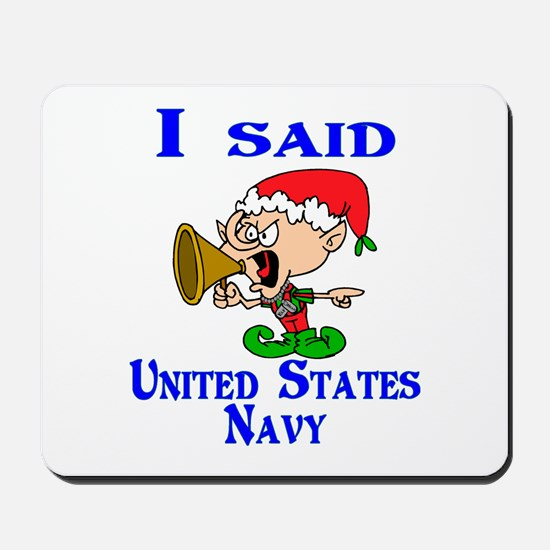 I said Navy Mousepad