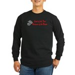 USMC Because of the Brave Long Sleeve Dark T-Shir