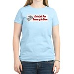 USMC Because of the Brave Women's Light T-Shirt