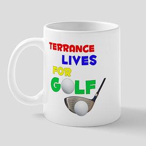 Terrance Lives for Golf - Mug