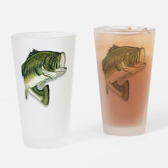 Unique Fishing Drinking Glass