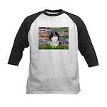 Lilies (#2)/Japanese Chin Kids Baseball Jersey