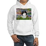 Lilies (#2)/Japanese Chin Hooded Sweatshirt