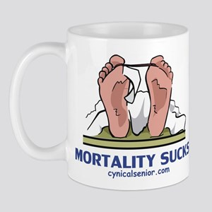 Mortality Sucks Mug