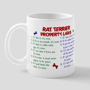 Rat Terrier Property Laws 2 Mug