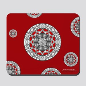 Aztec Meets Alien Mousepad