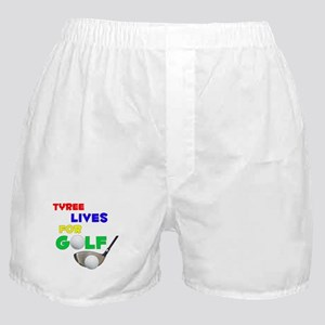Tyree Lives for Golf - Boxer Shorts
