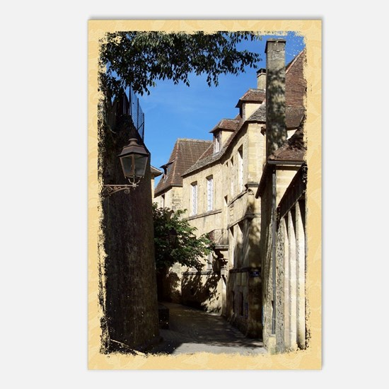 French Village Scene, Sarlat Postcards (Package of