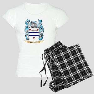 Holman Coat of Arms - Family Crest Pajamas