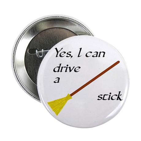 "Drive a Stick 2.25"" Button (10 pack)"