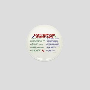 Saint Bernard Property Laws 2 Mini Button