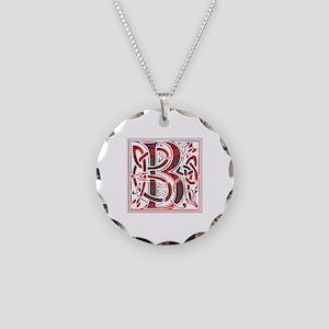 Monogram - Burns Necklace Circle Charm
