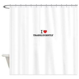Translucent Shower Curtains