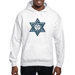 Star Of David & Cross Hooded Sweatshirt