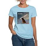 WILD SIDE/DARE WHALE Women's Light T-Shirt