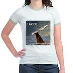 WILD SIDE/DARE WHALE Jr. Ringer T-Shirt