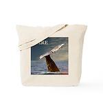 WILD SIDE/DARE WHALE Tote Bag