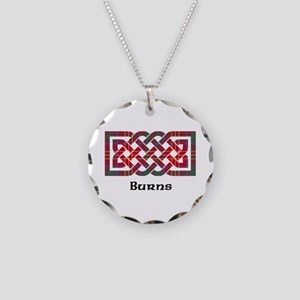 Knot - Burns Necklace Circle Charm