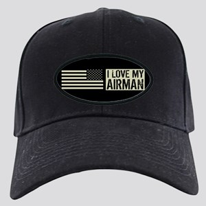 U.S. Air Force: I Love My Airman (Black Black Cap
