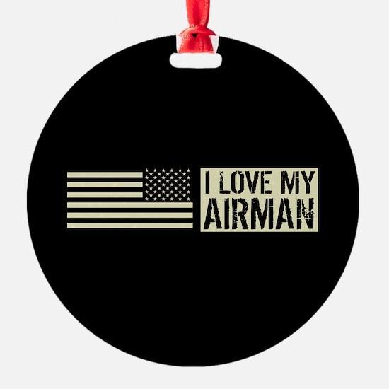 U.S. Air Force: I Love My Airman (B Ornament